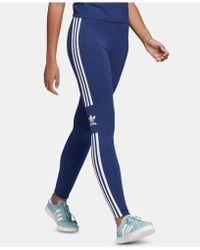 f3dfc57659826 adidas - Originals Adicolor Three-stripe Leggings - Lyst