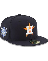 sale retailer 75ca2 25e0c KTZ Houston Astros Jersey Custom 59fifty Fitted Cap in Blue for Men - Lyst