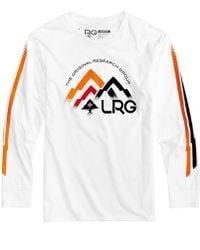 LRG | Men's Mountain Original Logo-print T-shirt | Lyst