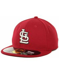 KTZ - St. Louis Cardinals Authentic Collection 59fifty Hat - Lyst 00381ca73