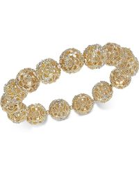 Charter Club - Crystal Filigree Stretch Bracelet, Created For Macy's - Lyst