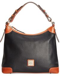 Dooney & Bourke - Pebble Leather Hobo - Lyst