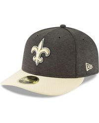 KTZ - New Orleans Saints On Field Low Profile Sideline Home 59fifty Fitted  Cap - Lyst 32644b917