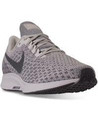 Lyst - Nike Men s Air Zoom Pegasus 34 Running Sneakers From Finish ... 9d49180503cf