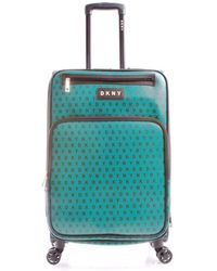 """DKNY - Signature Gems 25"""" Spinner Suitcase - Lyst"""