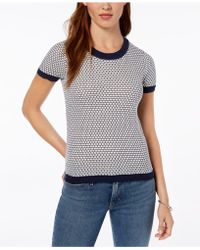 Maison Jules - Honeycomb Sweater, Created For Macy's - Lyst