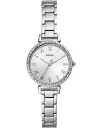 Fossil - Kinsey Stainless Steel Bracelet Watch 28mm - Lyst