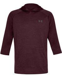 Under Armour - Ua Tech Powersleeve Hooded Training T-shirt - Lyst