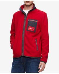 Calvin Klein - Polar Fleece Jacket - Lyst