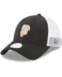 KTZ - San Francisco Giants Trucker Shine 9twenty Cap - Lyst