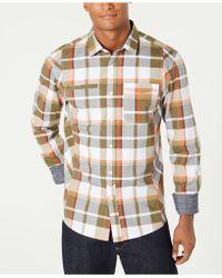 Sean John - Legacy Plaid Shirt - Lyst