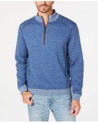 Tommy Bahama - Reversible Flipsider Half-zip Pima Cotton Sweatshirt - Lyst