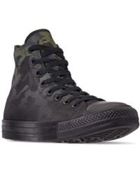 8d51e0a2d233 Converse - Chuck Taylor All Star Gradient Camo High Top Casual Sneakers  From Finish Line -