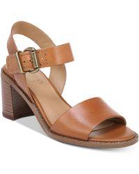 Franco Sarto - Havana Block-heel Dress Sandals - Lyst
