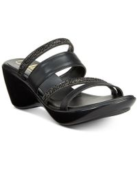 Callisto - Viera Strappy Platform Wedge Sandals, Created For Macy's - Lyst