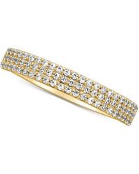 Macy's - Diamond Pavé Band (1/5 Ct. T.w.) - Lyst