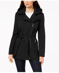 BCBGeneration - Asymmetrical Raincoat - Lyst