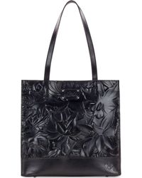 Patricia Nash - Toscano Floral Embossed Leather Tote - Lyst