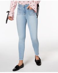 Maison Jules - Frayed Skinny Jeans, Created For Macy's - Lyst
