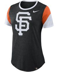 Nike - San Francisco Giants Tri-blend Crew T-shirt - Lyst