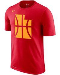 881f18e94 Nike - Utah Jazz City Team T-shirt - Lyst. Nike - Rudy Gobert Utah Jazz  Icon Player ...