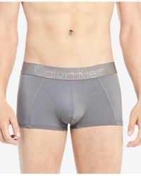 Calvin Klein - Focused Fit Low-rise Trunks - Lyst