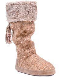 Muk Luks - Women's Winona Boot Slippers - Lyst