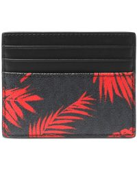 Michael Kors - Palm-print Card Case - Lyst