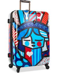 "Heys - Britto Freedom 30"" Expandable Hardside Spinner Suitcase - Lyst"