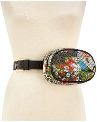 Steve Madden | Printed Quilted Fanny Pack | Lyst