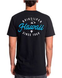 7e5452897 Quiksilver - Hawaii Store Front Graphic Tshirt - Lyst