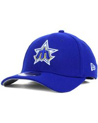 info for ab4ed 9014f KTZ Seattle Mariners Mega Team Neo 39thirty Cap in Blue for Men - Lyst