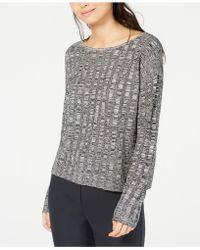 979500cfa19 Eileen Fisher - Organic Linen And Silk Scoop-neck Sweater - Lyst