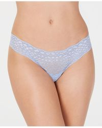 Cosabella - Sweet Treats Snake Skin Pattern Lace Thong Treat0330 - Lyst