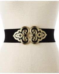 Style & Co. - Style&co. Intricate Buckle Belt - Lyst