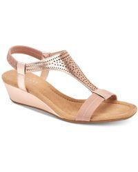 Alfani - Step 'n Flex Vacanzaa Wedge Sandals, Created For Macy's - Lyst
