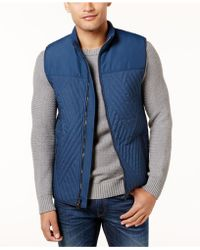 Vince Camuto - Men's Quilted Vest - Lyst