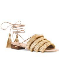 Michael Kors - Michael Gallagher Lace-up Sandals - Lyst