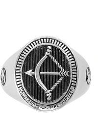 Macy's - Zodiac Ring In Sterling Silver - Lyst