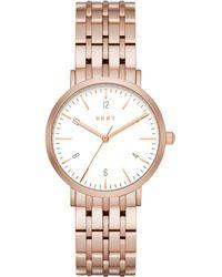 DKNY - Ladies Rose Gold Minetta Watch Ny2504 - Lyst
