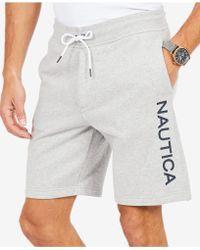 Nautica - Fleece Shorts, Created For Macy's - Lyst