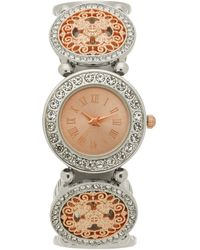 Charter Club - Two-tone Stretch Bracelet Watch 31mm, Created For Macy's - Lyst