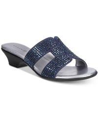 Karen Scott - Esmayy Slide-on Sandals, Created For Macy's - Lyst