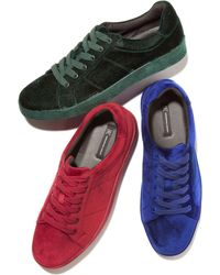 INC International Concepts - Brogan Velvet Lace-up Sneakers, Created For Macy's - Lyst