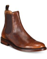 Frye - Jones Leather Chelsea Boots - Lyst