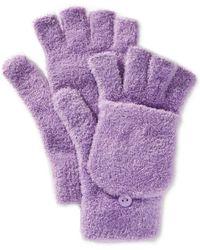 Steve Madden - Marled Flip-top Gloves - Lyst