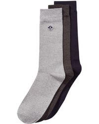 Sperry Top-Sider - 3-pk. Casual Crew Socks - Lyst