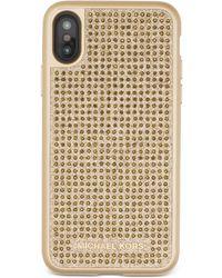 Michael Kors - Michael Studded Iphone X Case - Lyst
