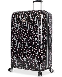 "Betsey Johnson - Paris Love 30"" Hardside Spinner Suitcase - Lyst"