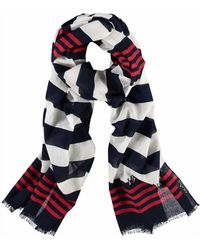 Fraas - Nautical Oblong Scarf - Lyst